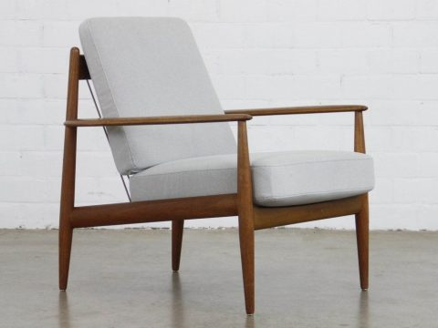 Lounge Chair By Grete Jalk For France And Daverkosen 1950s