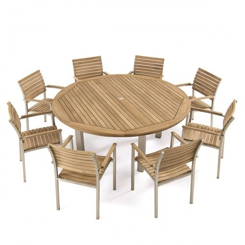 Best Teakwood Round Dining Sets For 8