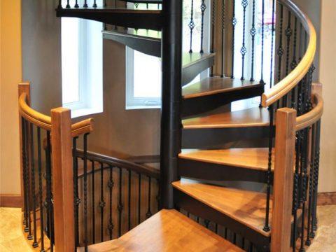 cầu thang gỗ teak nhập khẩu