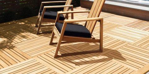 thảm sàn gỗ teak tự nhiên