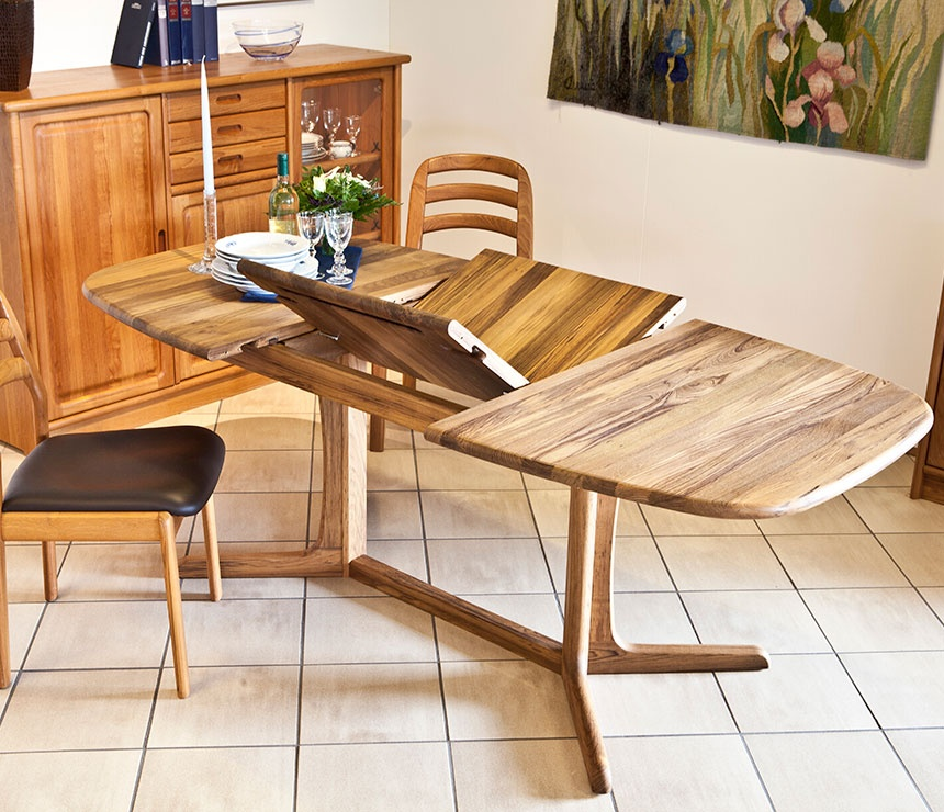 Classic Danish Retro Cd9224 Butterfly Extension Dining Table