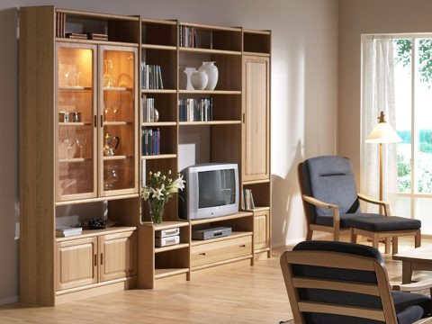 Large Classic Danish Wall Unit Cdk4